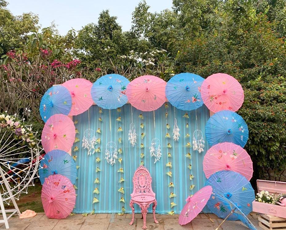 Pastel Blue Wedding Decor