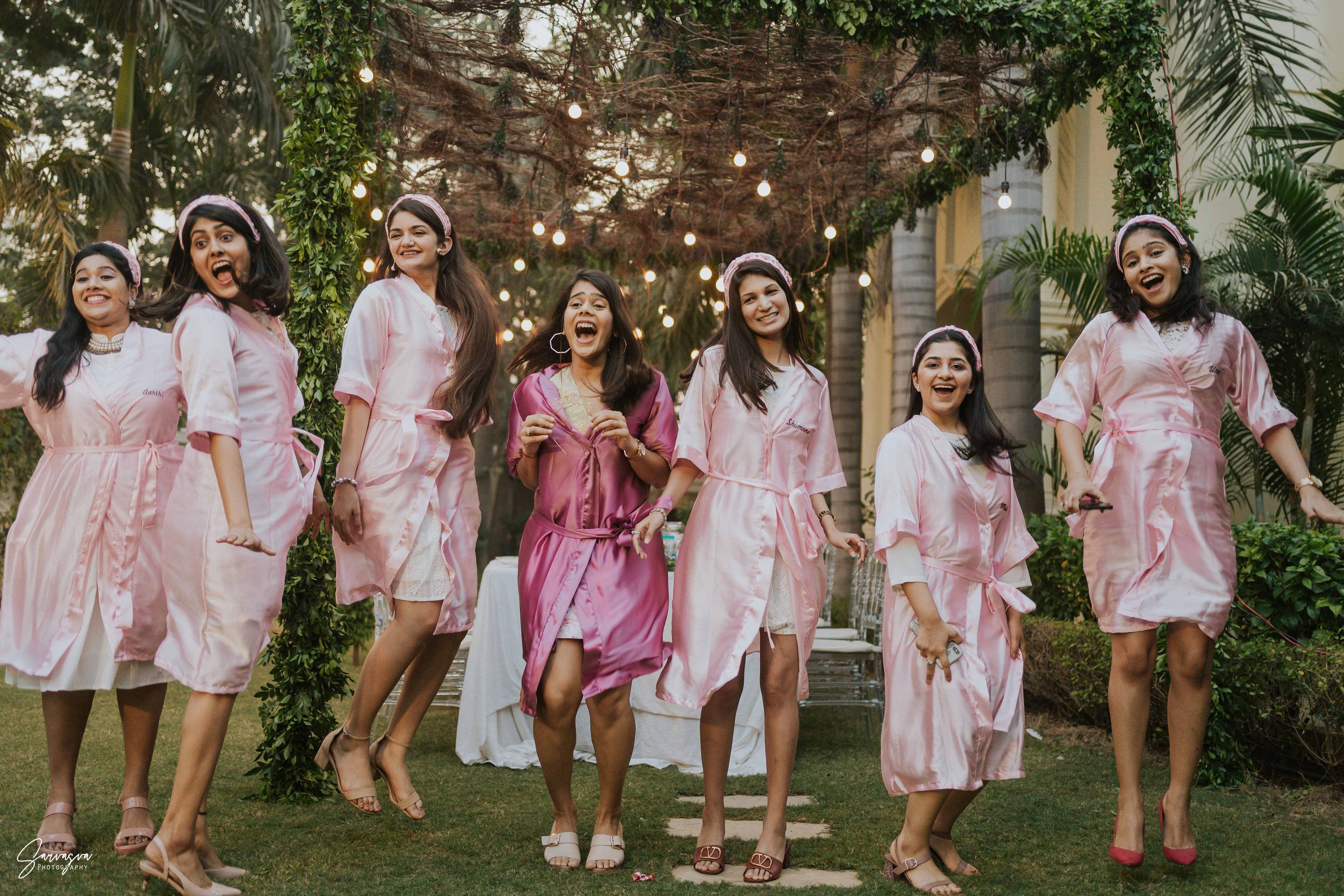 Pastel Bridal Robes