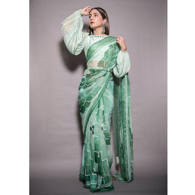 Pastel Green Bridesmaids Lehenga