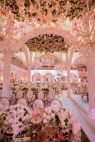 Pastel Pink Reception decor