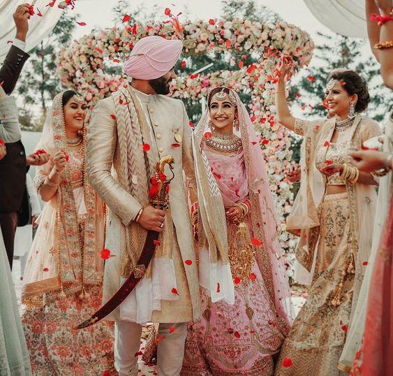 Pastel Theme Wedding