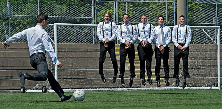 Sporty Photo ideas for Groomsmen