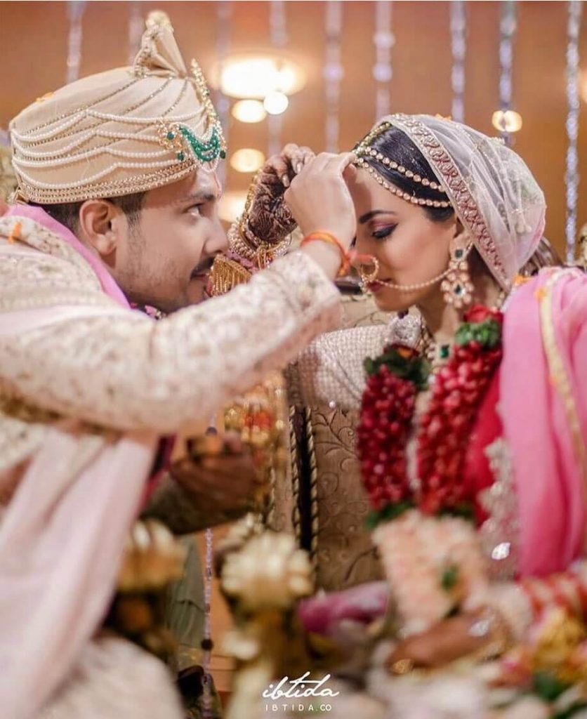 aditya narayan wedding portrait