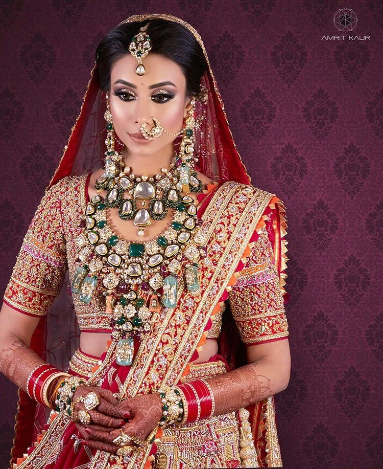 layered bridal necklace