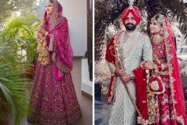 best sikh bridal looks