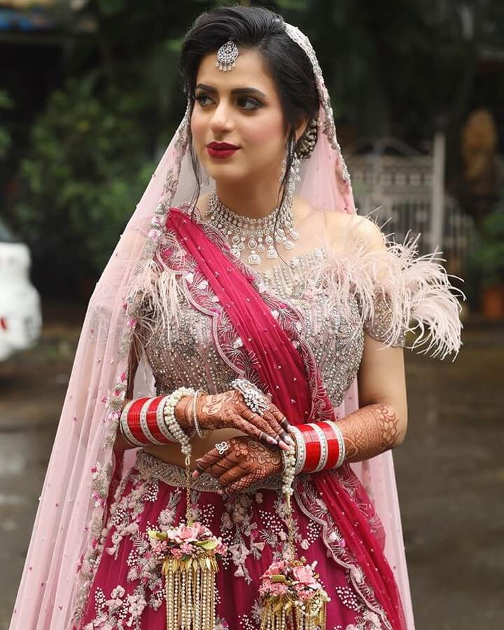 bridal blouse sleeve