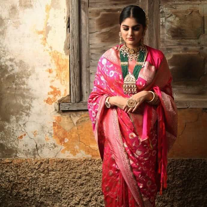 bridal saree ideas