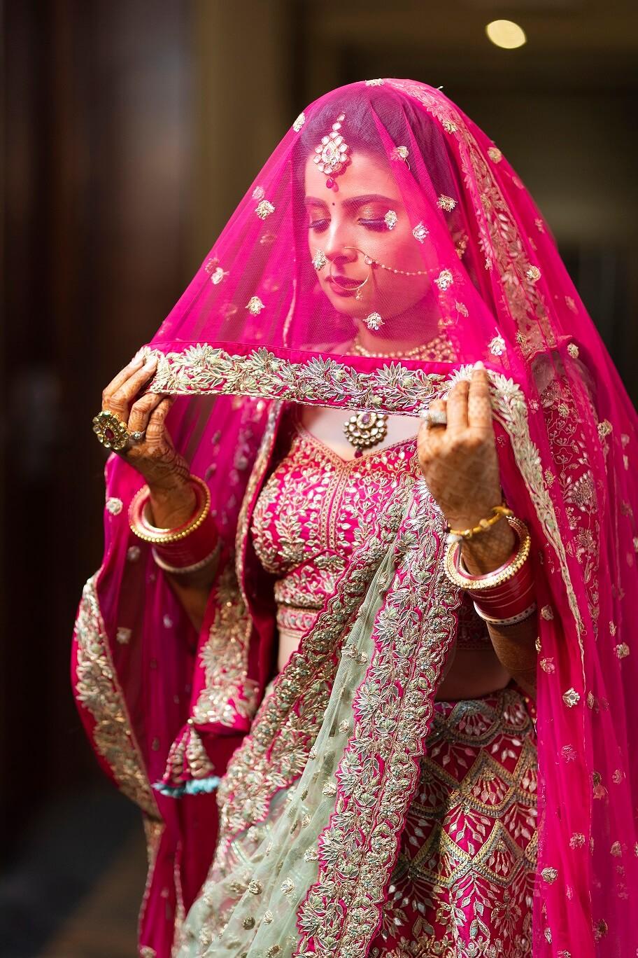 bridal veil shot