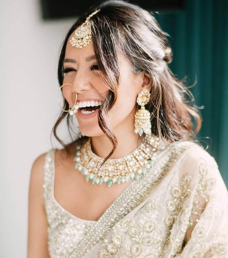 pastel wedding jewelry