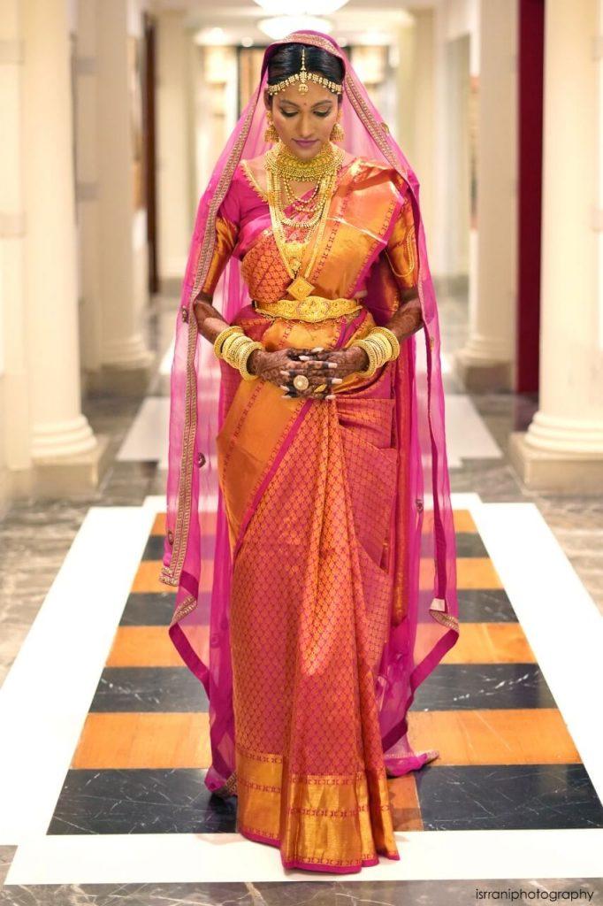 eesha amiin bridal look