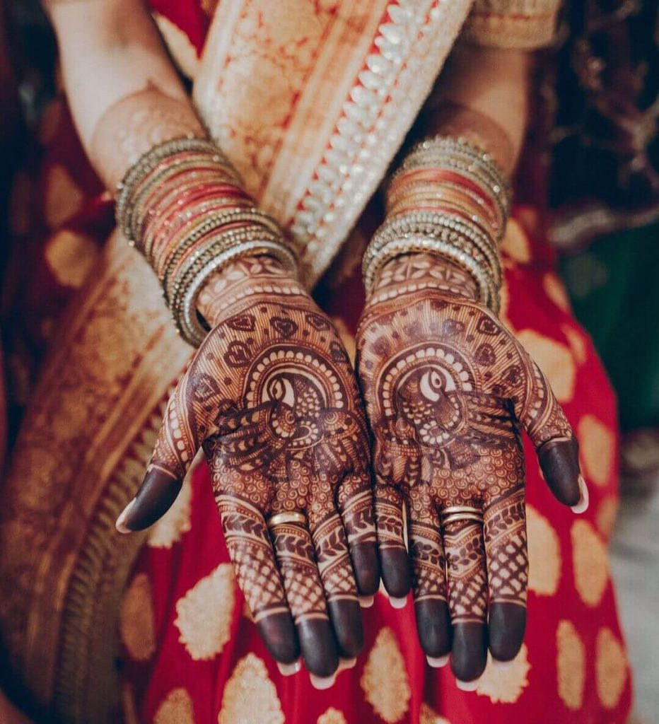 henna ideas for brides