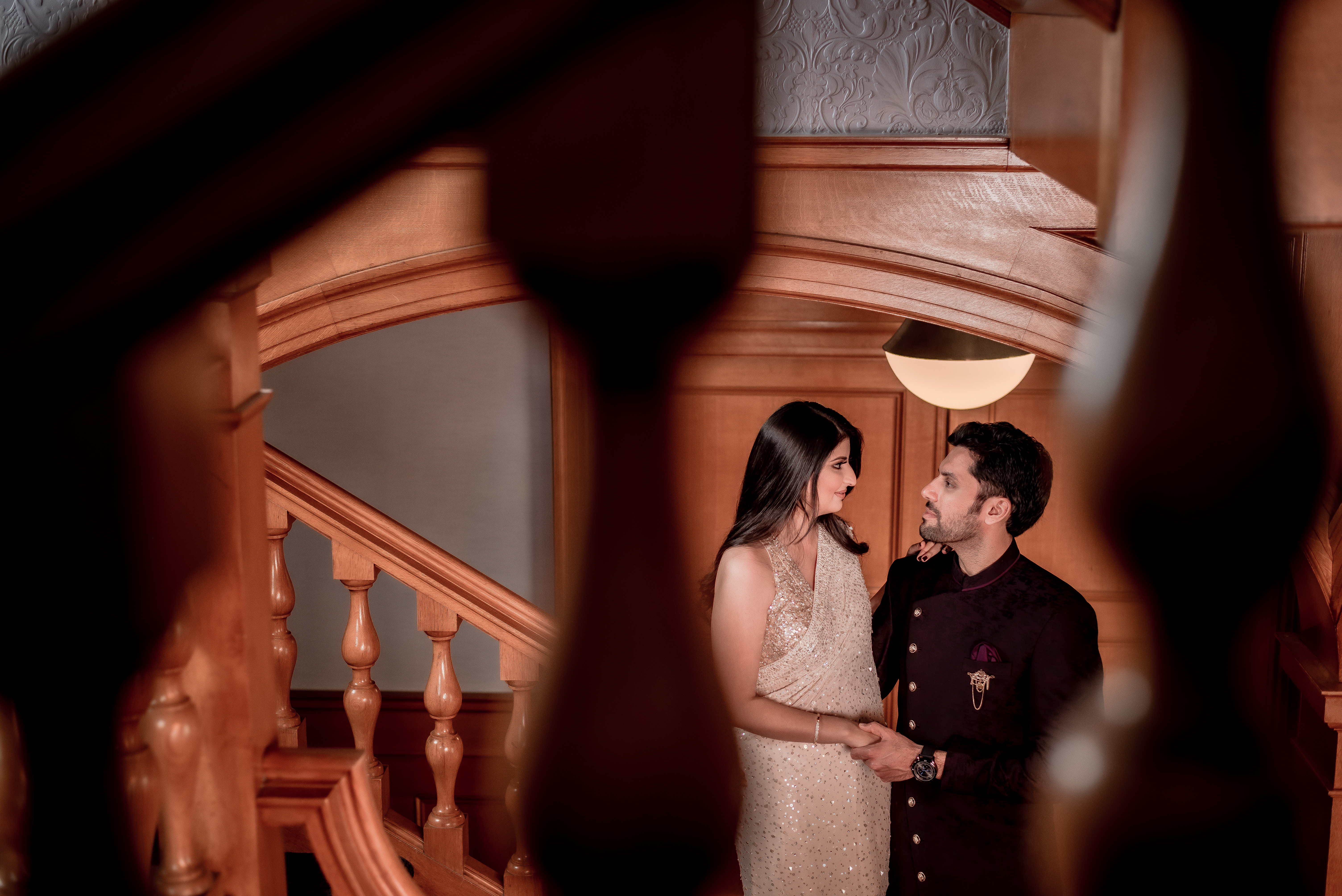 romantic pre-wedding shoot