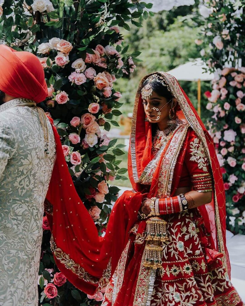 mani k jassal bridal look