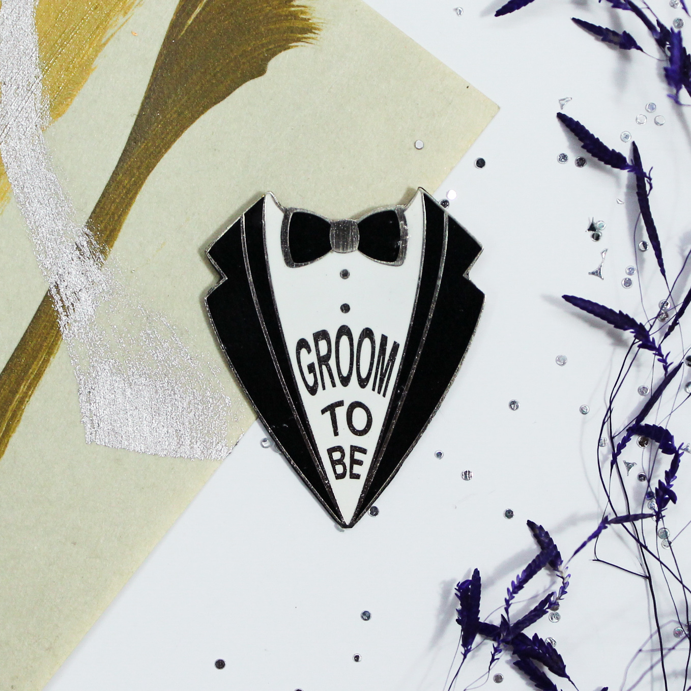 lapel pins for groom