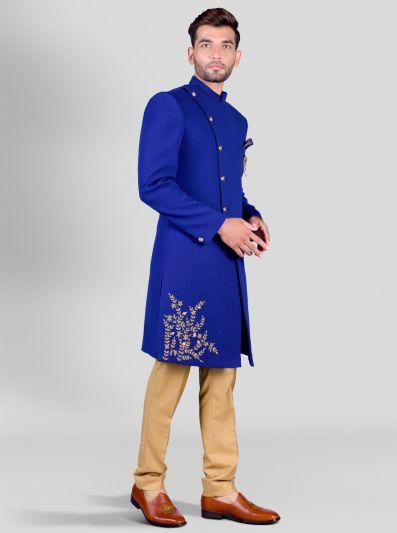 blue bandhgala