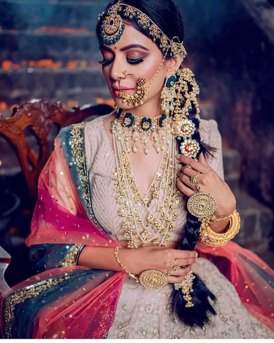 heavy bridal jewellery