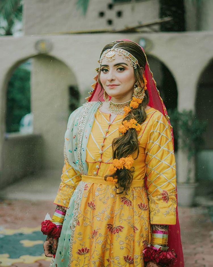 marigold bridal hairstyles