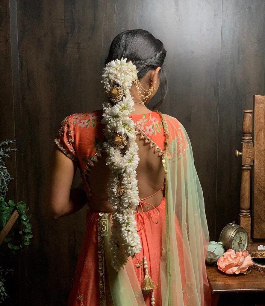 mogra bridal hairstyle