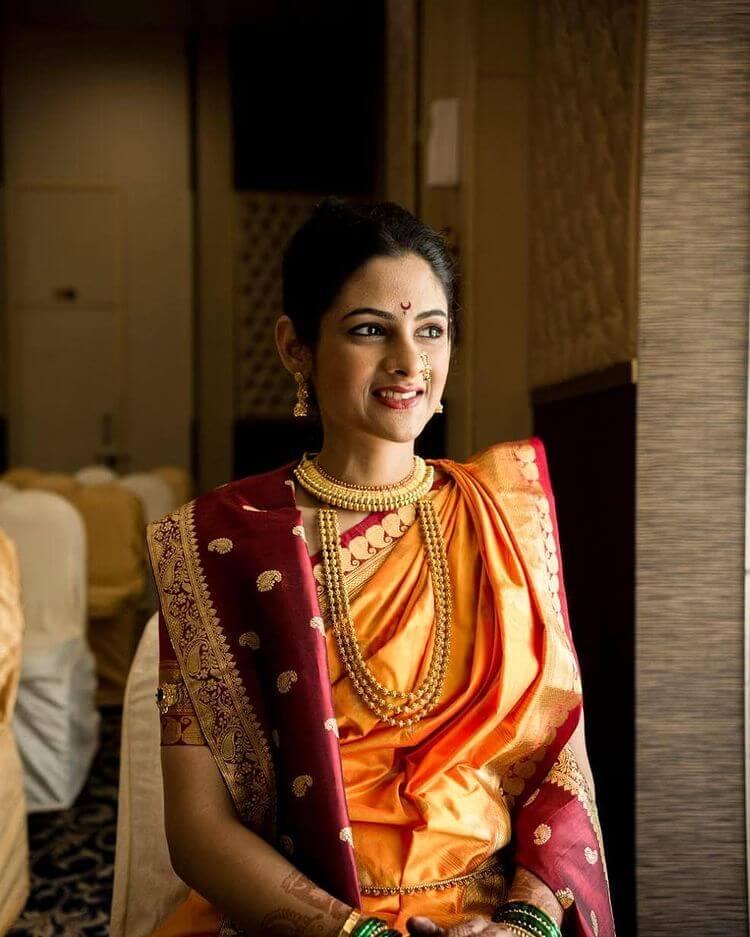 maharashtrian thushi necklace