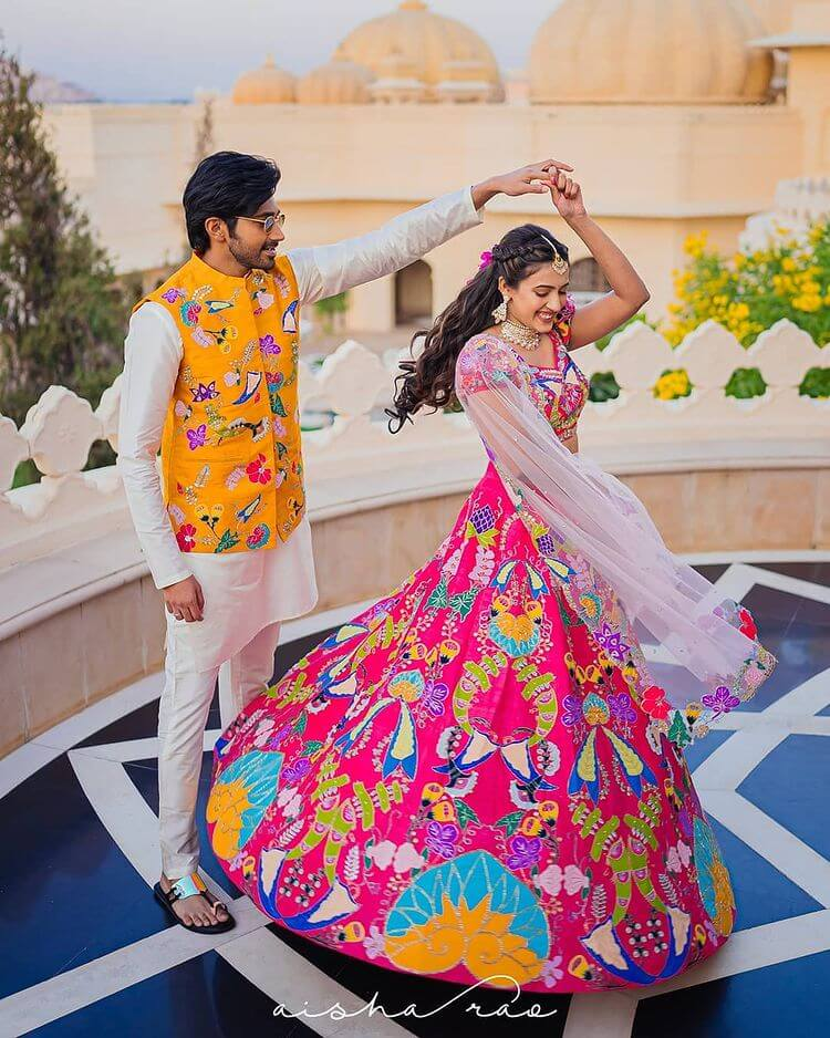 bridal lehenga colors