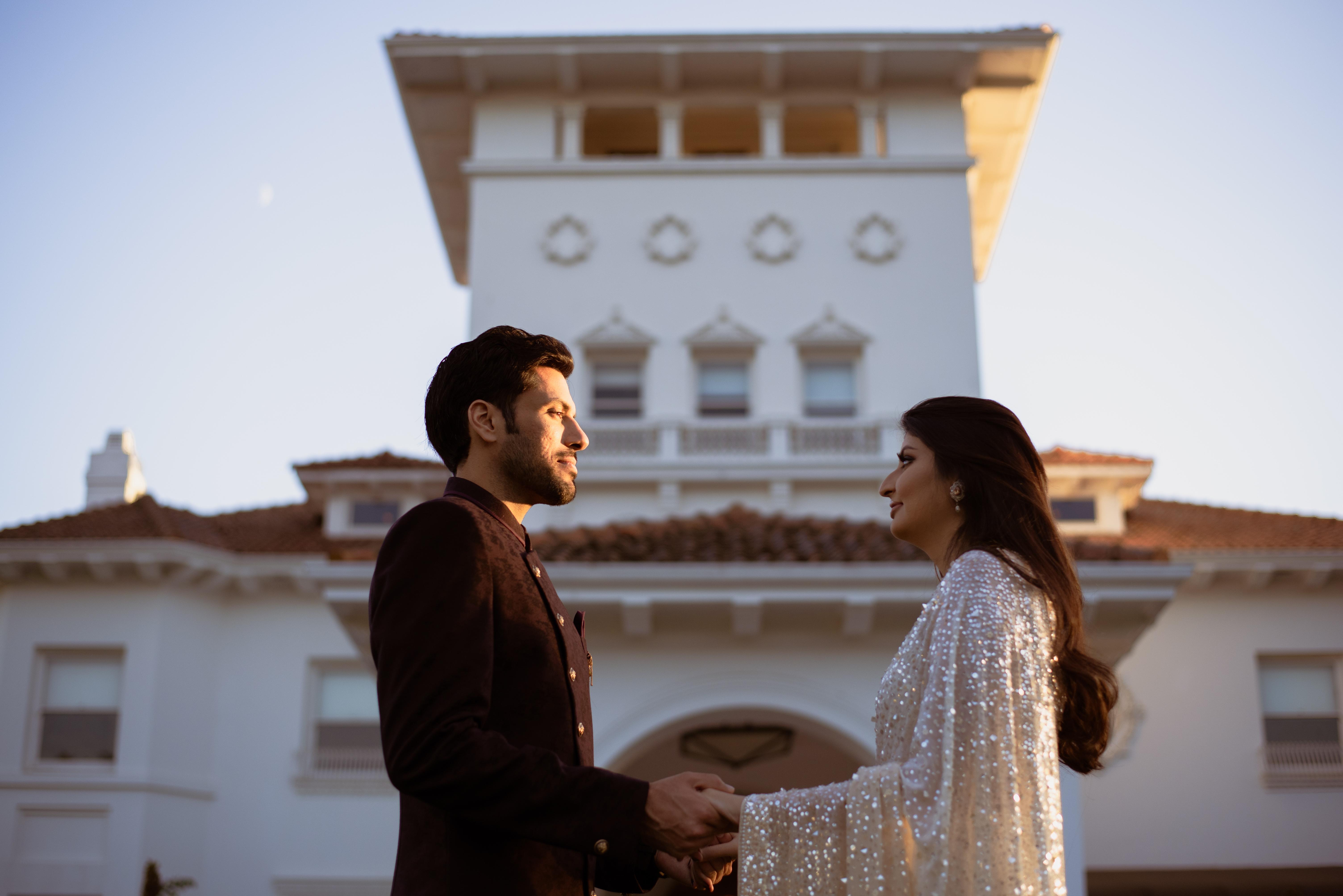 pre-wedding shoot in california