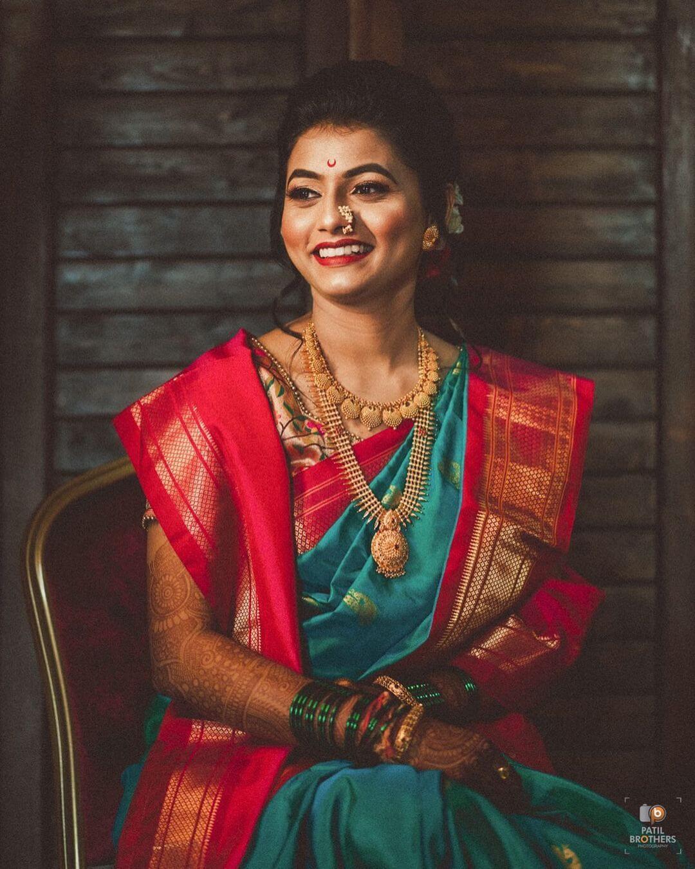 marathi thushi necklace