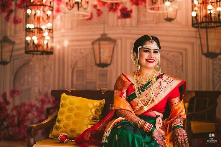 marathi bridal jewelery