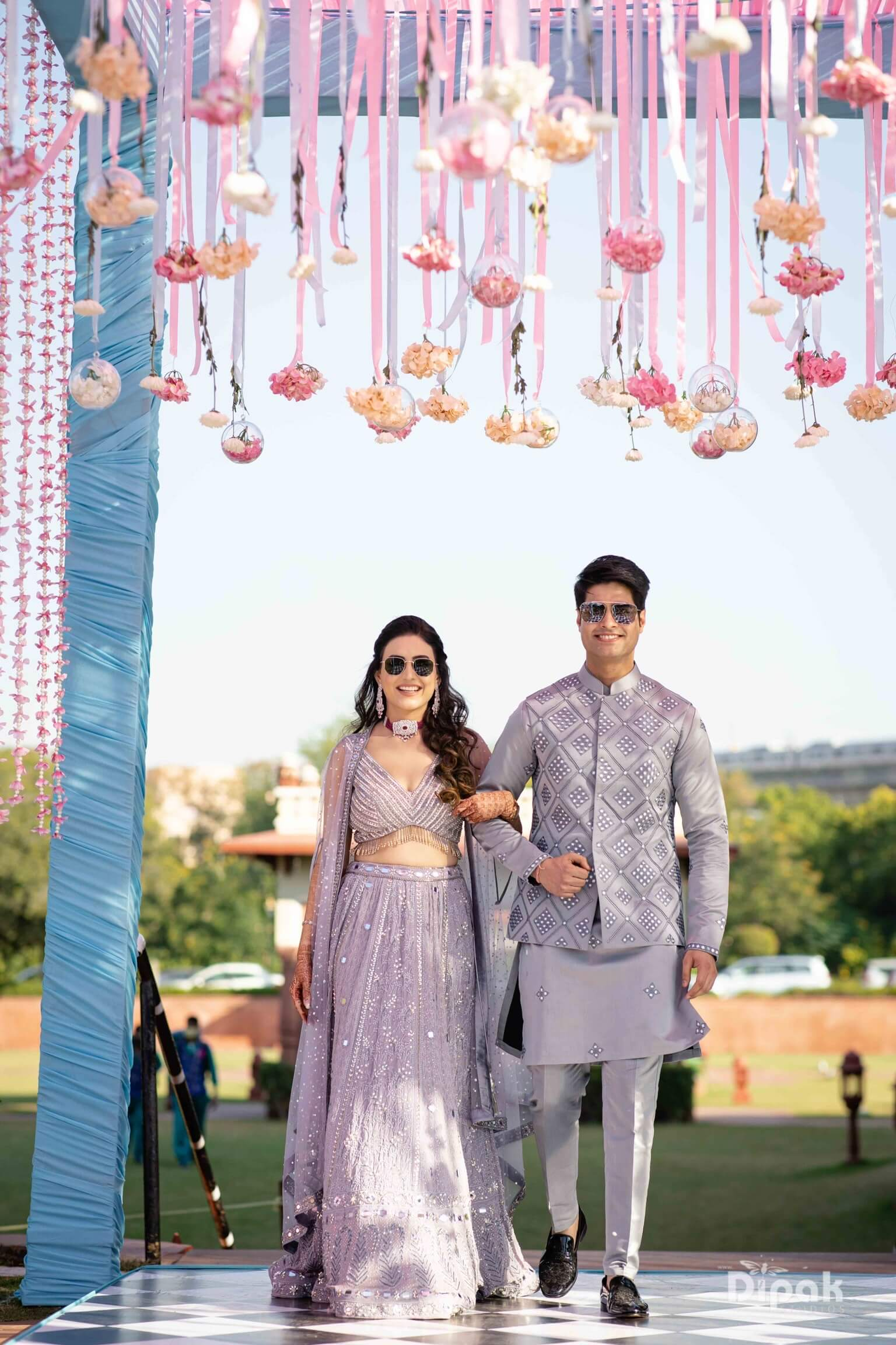 purple pastel outfits for grooms