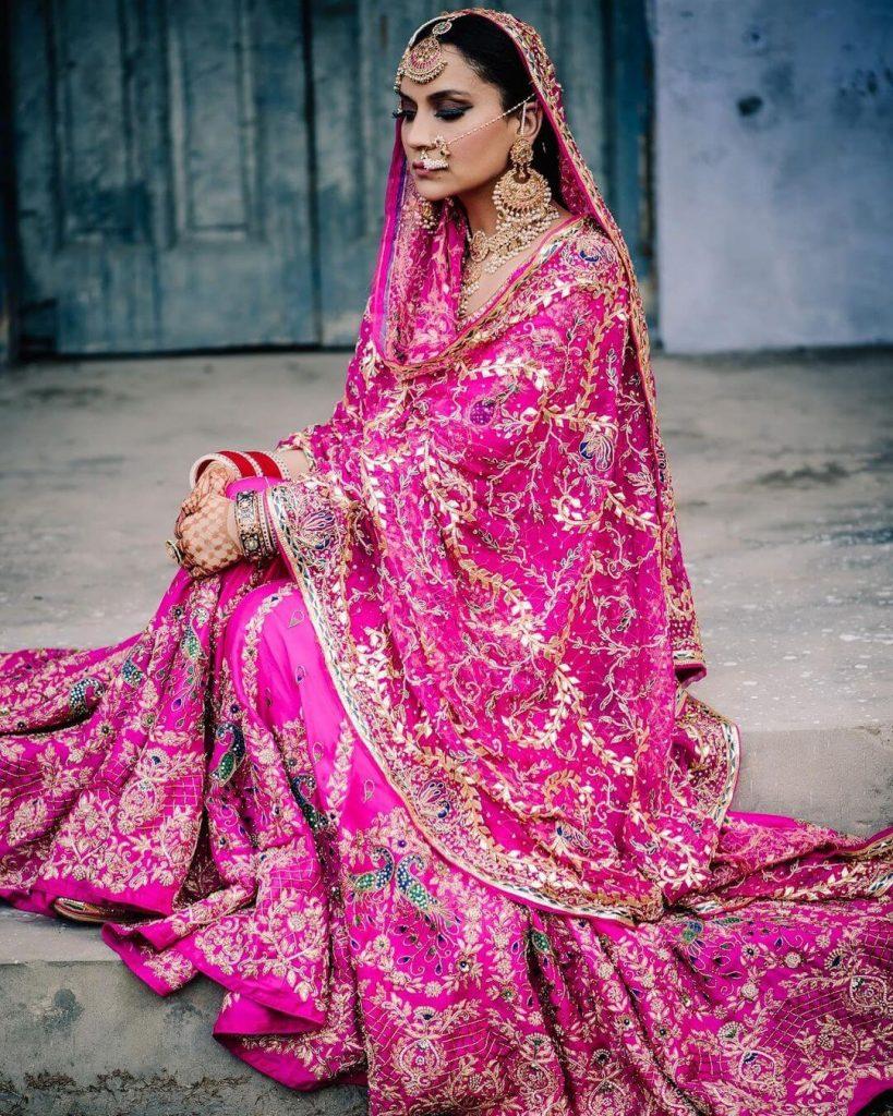designer harkiran basra wedding