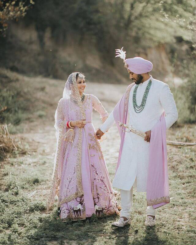 Sikh wedding outfits