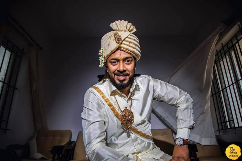south indian groom accessories