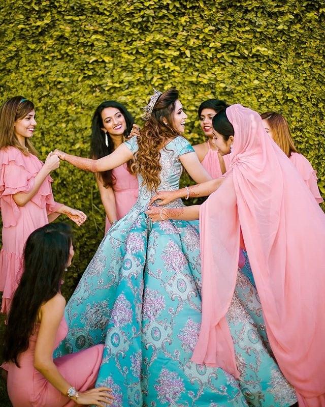 tiara hairstyle for brides