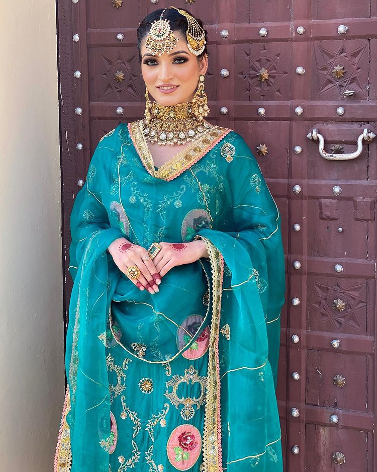 punjabi bridal attire