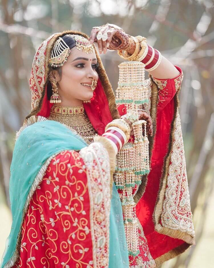 traditional punjabi bridal look