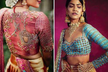 unique blouse designs