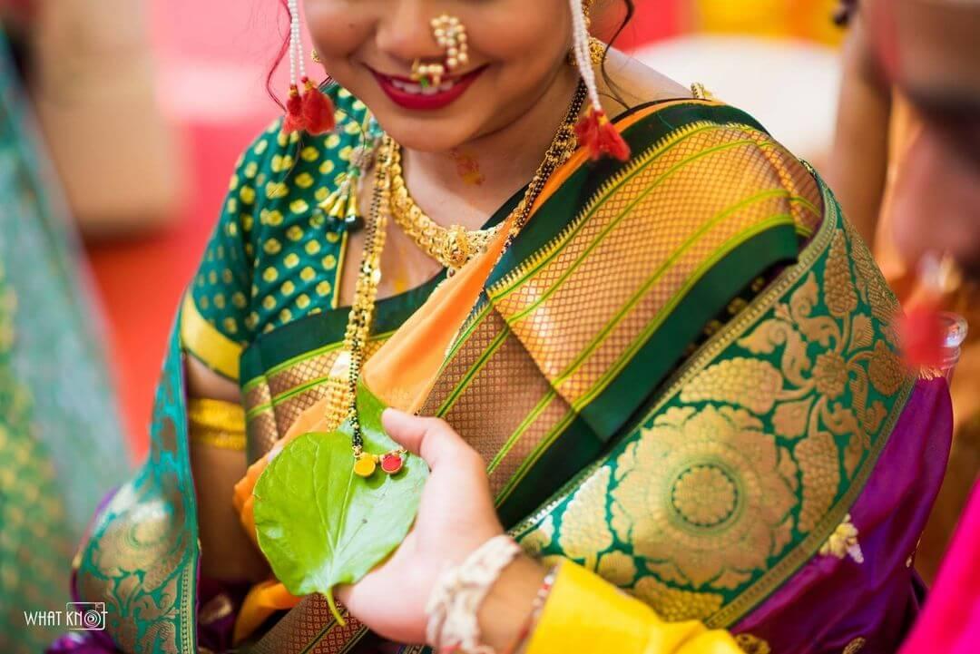 wedding thushi necklace