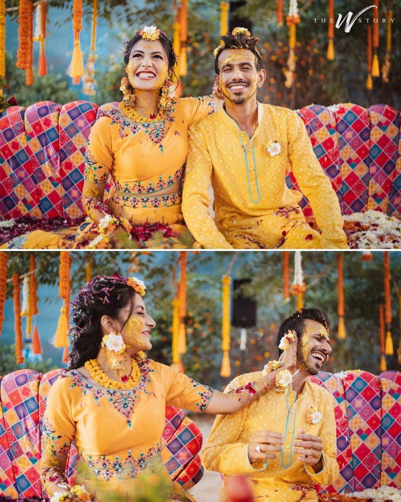 yuzvendra chahal haldi ceremony
