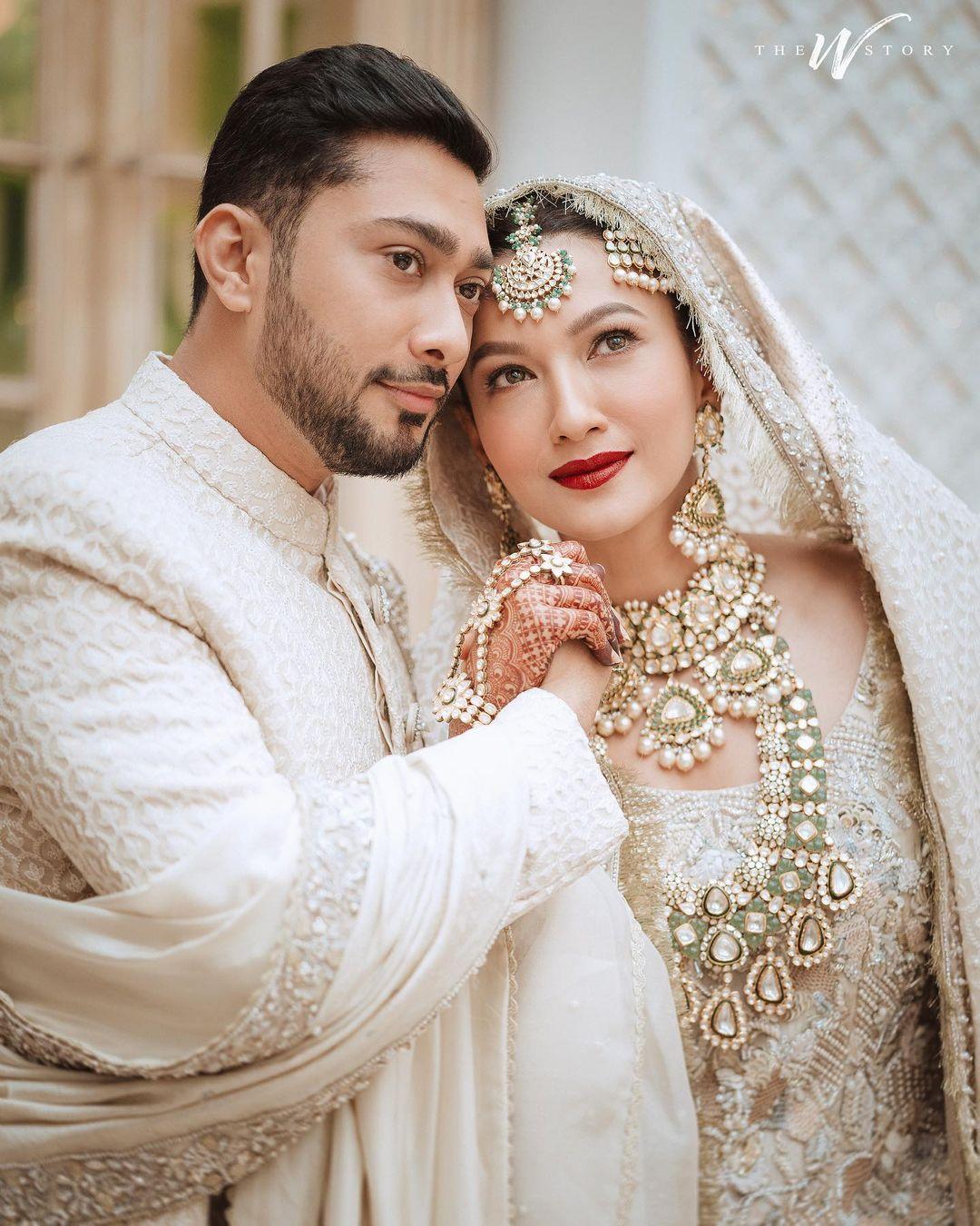 zaid and gauahar khan wedding
