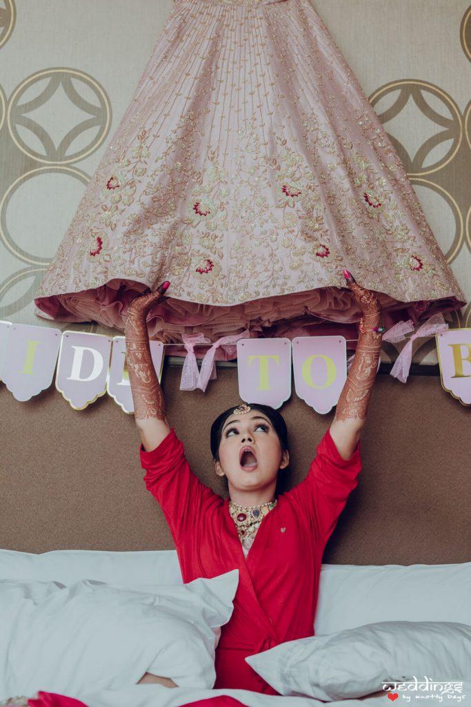 Bridal Lehenga Fitting