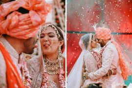 Fashion Designer Bride Who Designed Her Own Outfits