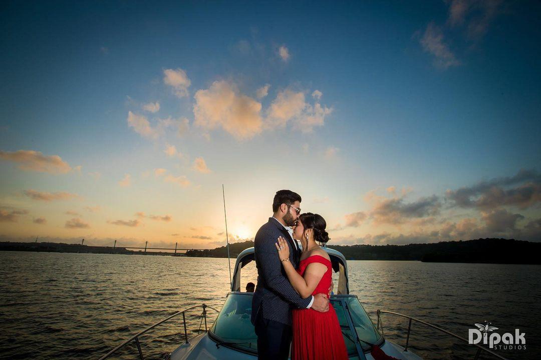 Goa pre-wedding shoot
