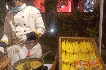 Maggi Counter At Wedding