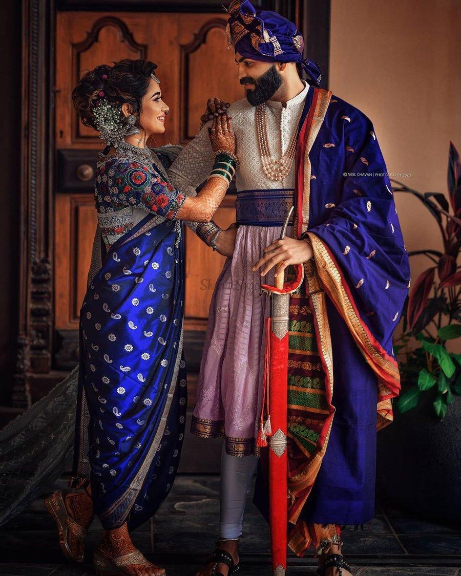 Marathi couple portraits