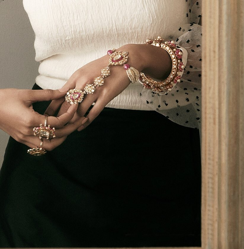 Minimalist hand jewelry