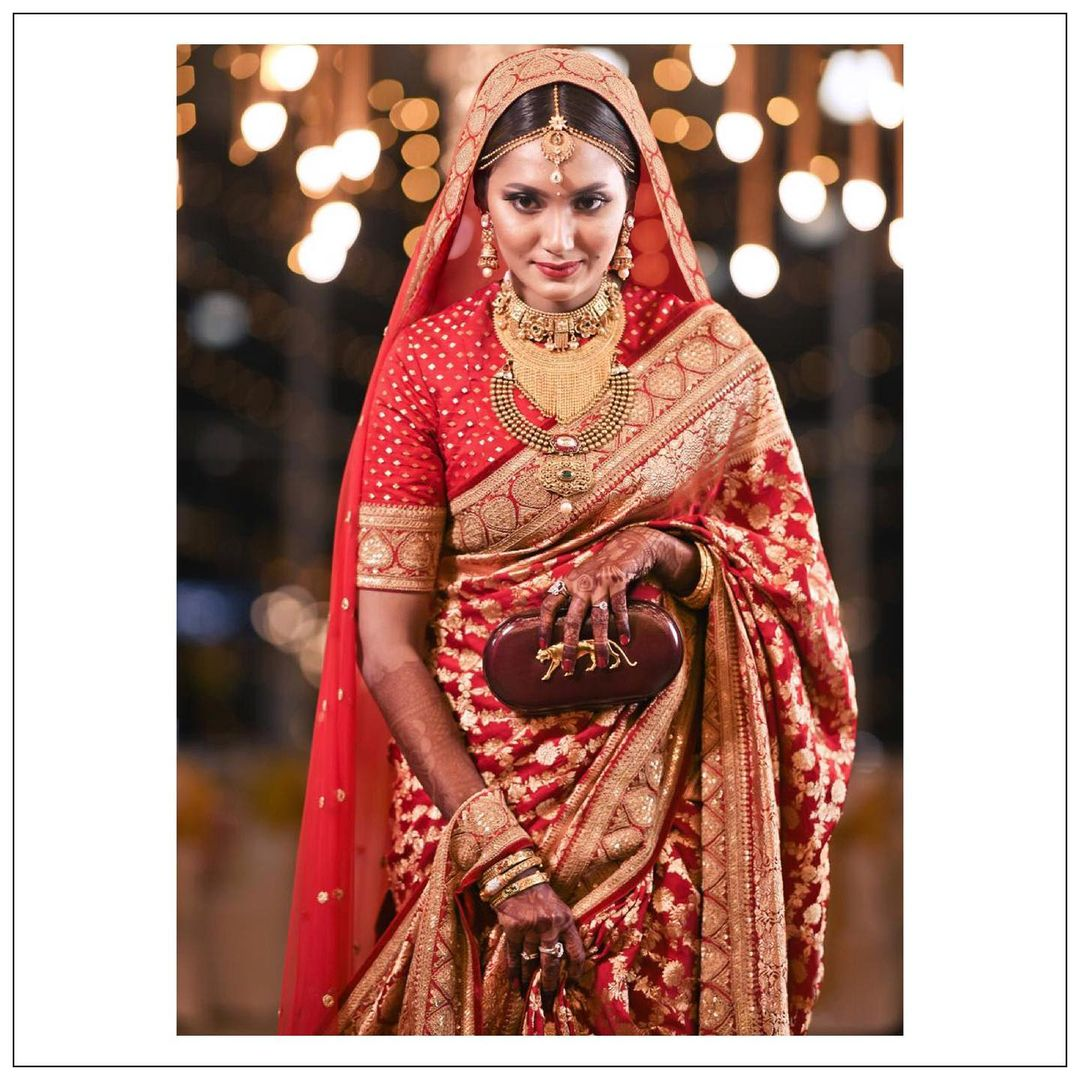 Sabyasachi Bridal clutch