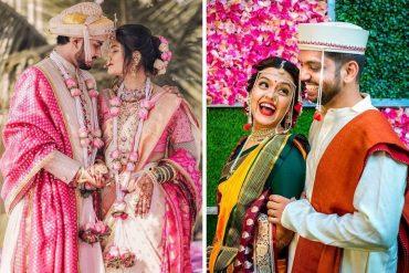 Wedding Portraits for Marathi Couple