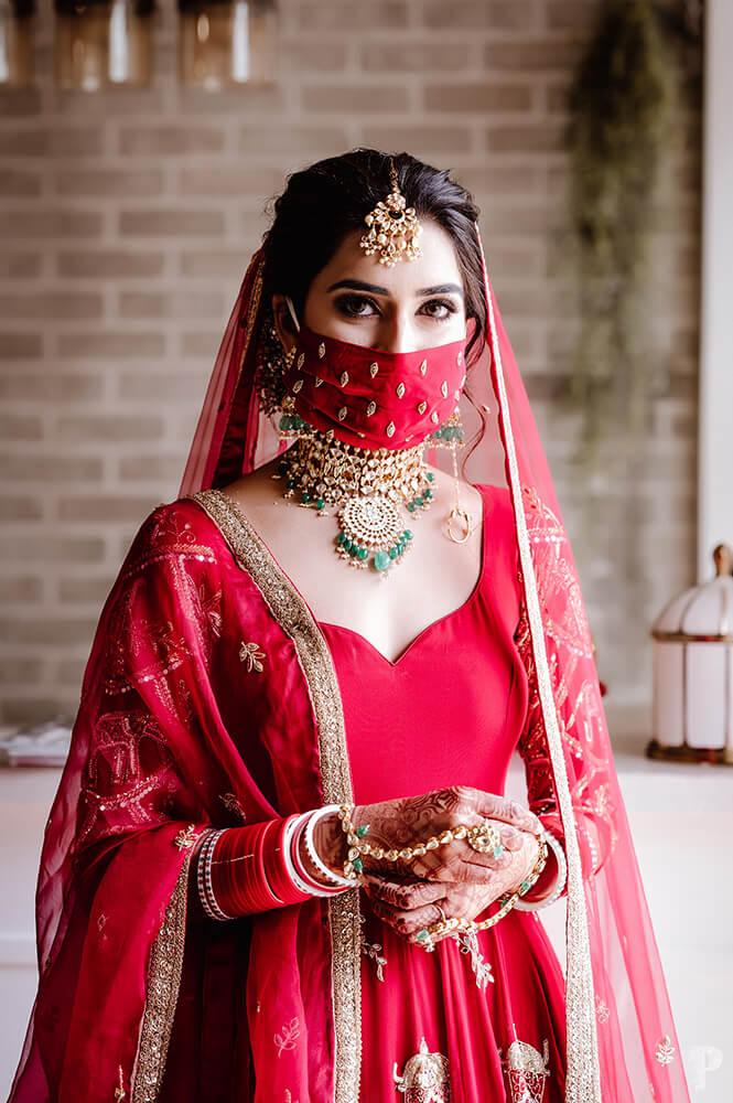bhavdeep kaur wedding look