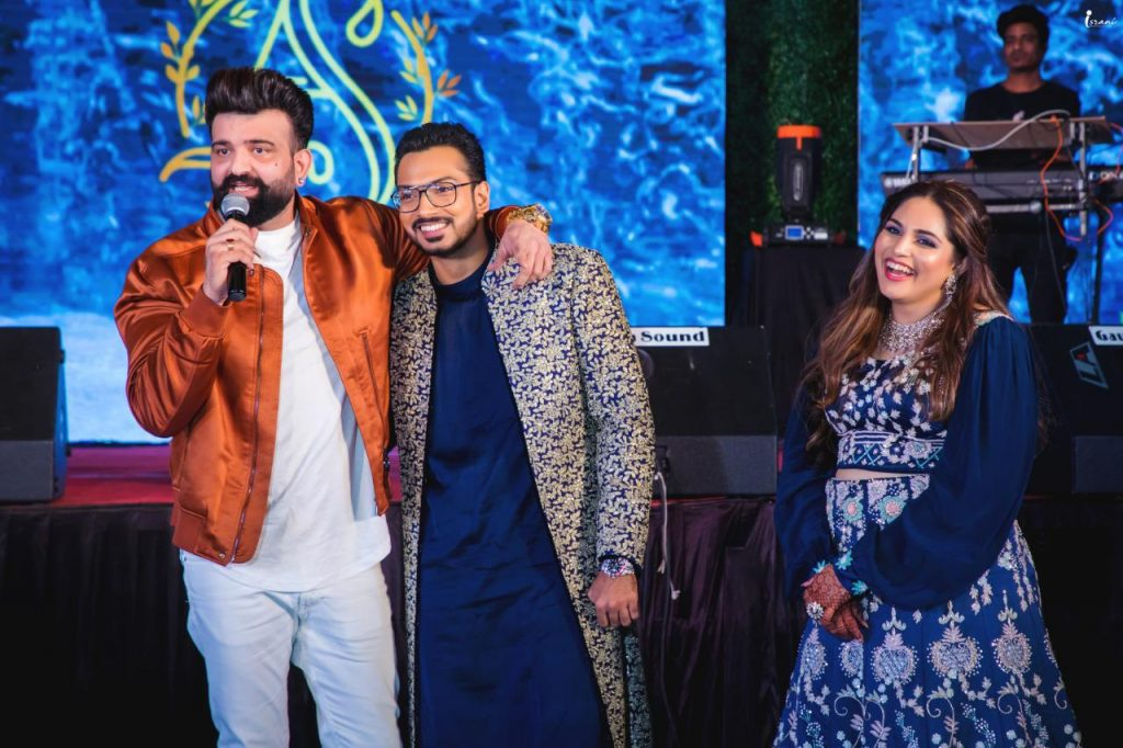 celebrity wedding sangeet