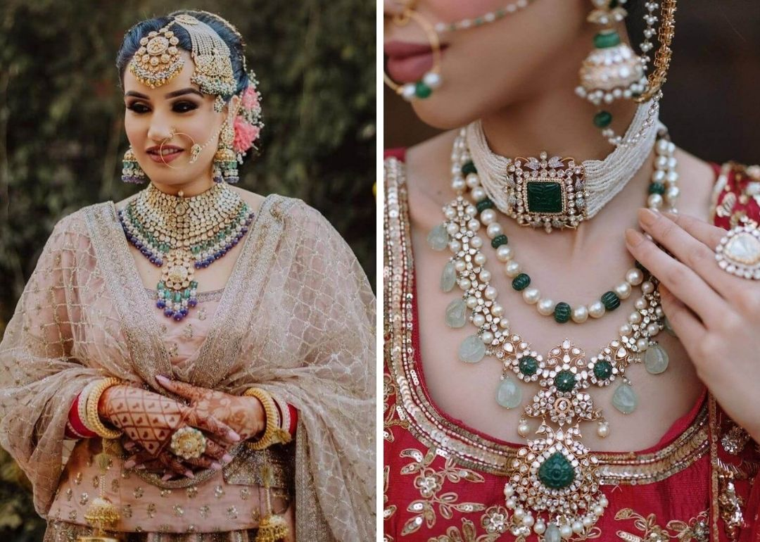 Trendy And Voguish Bridal Jewellery Sets For 15 Brides
