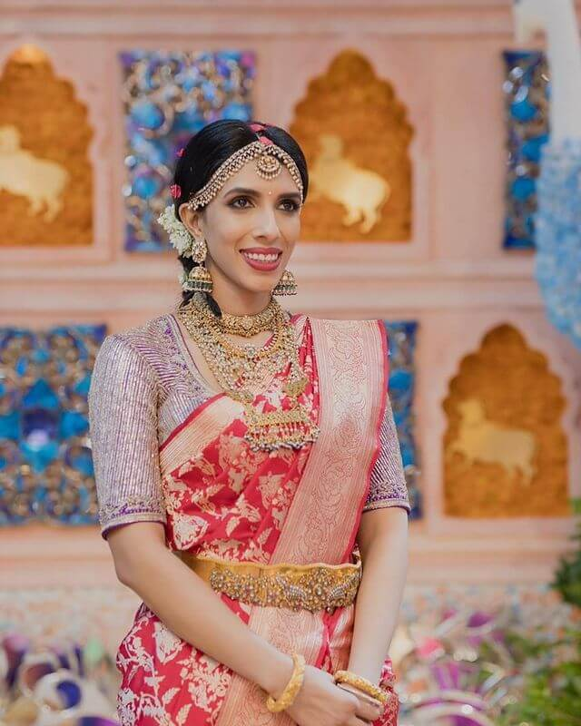 South Indian Bridal Matha Patti